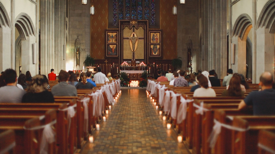Candlelight Mass